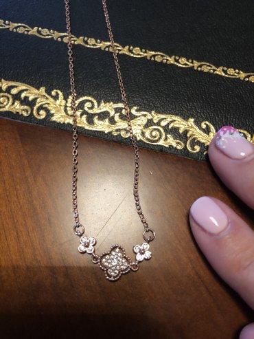 925 ασημι, δεν μαυριζει!! υπεροχο κοσμημα σε ροζ χρυσο! σε North & East Suburbs