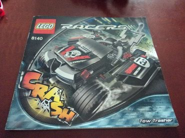 Lego 8140 Racers Tow Trasher Used 100% complete with extra parts and σε North & East Suburbs