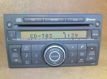 Radio cd nissan quasquai μανισιο σε Magnisia