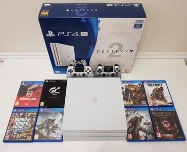 Brand new playstation 4 pro 1TB with 2 controllers and 5 free games of σε Athens