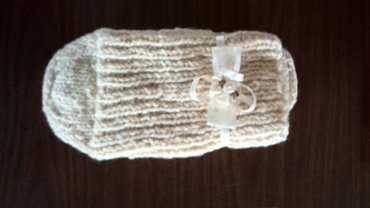 Vunene čarape,bele boje - Pozega