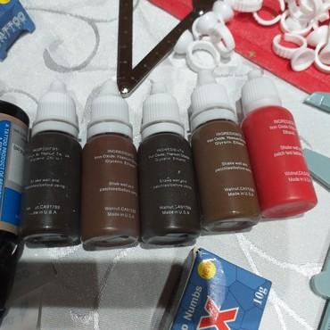 Microblading Japanske metoda Velikih setovima pigmenta velik set - Belgrade
