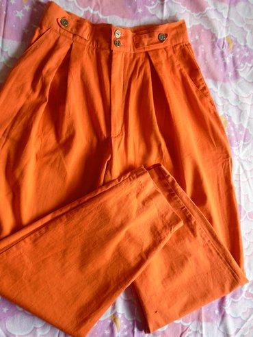 Duboke, vintage pantalone, lepe oranž boje, kupljene u torontu, po - Belgrade