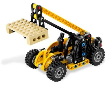 Lego 8045 Mini Telehandler Used Complete with instructions No box σε North & East Suburbs