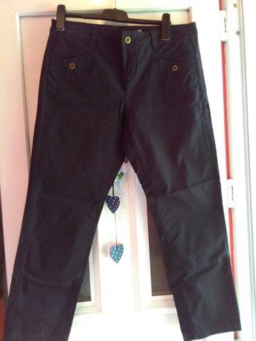 Pantalone za krupnije dame,ne nosene,crne I ima malo gume u - Sombor