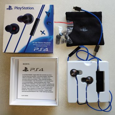 PS4 In-ear Stereo Headset σε Lykovrysi
