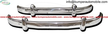 Saab 93 bumper (1956-1959) by stainless steel σε Athens