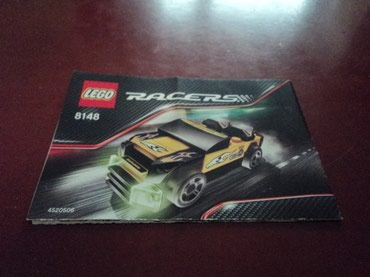 Lego Racers 8148 EZ-Roadster Used 100% complete with original σε North & East Suburbs