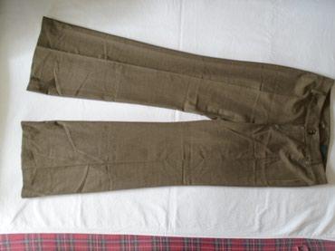 Poslovne pantalone na peglu. Nogavice se pri dnu malo šire pa lepo - Belgrade