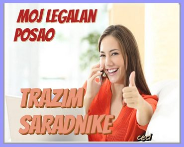 LEGALAN POSAO BEZ RIZIKA - Nova Pazova
