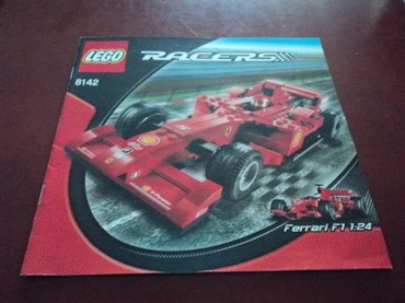 Lego 8142 Racers Ferrari 248 F1 1:24 (Alice version) Used 99% complete σε North & East Suburbs