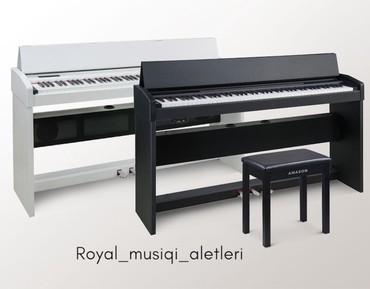 Bakı şəhərində Amason elektro piano