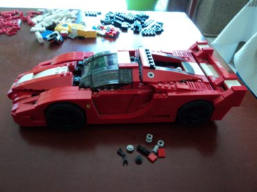 Lego 8156 Racers Ferrari FXX 1:17 Used 100% complete with extra parts σε North & East Suburbs