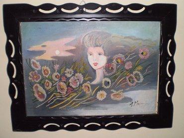 Πίνακας της ζωγράφου Α. Μουρατίδου, σε Athens
