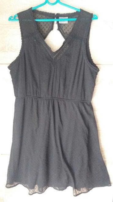 Crna leprsava haljina vel xl - Leskovac