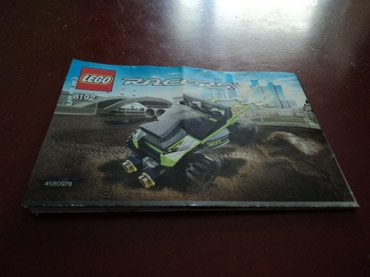 Lego Racers 8192 Lime Racer Used 100% complete with original σε North & East Suburbs