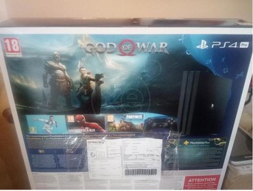 Αμεταχείριστο PS ,4 GOD OF WAR Pro, 1 Terabyte. σε Piraeus
