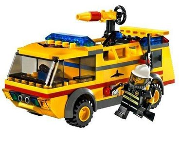 Lego 7891 Airport Firetruck Used A few parts missing Ask for more σε North & East Suburbs