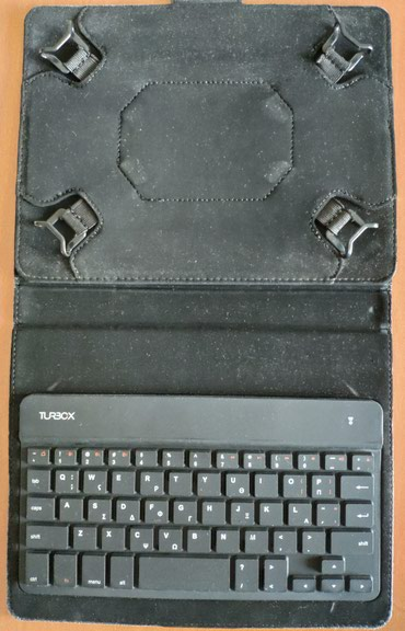"TurboX Bluetooth Κeyboard με θήκη tablet 10"" σε North Athens"