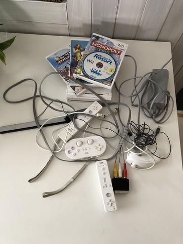 Nintendo Wii MODEL RVL-001 White Console, uvoz CH - Smederevo